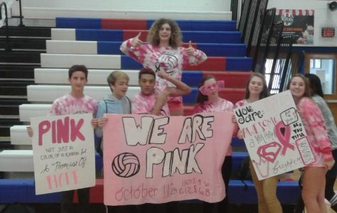 Slideshow: Pink Out Volleyball Game vs PA