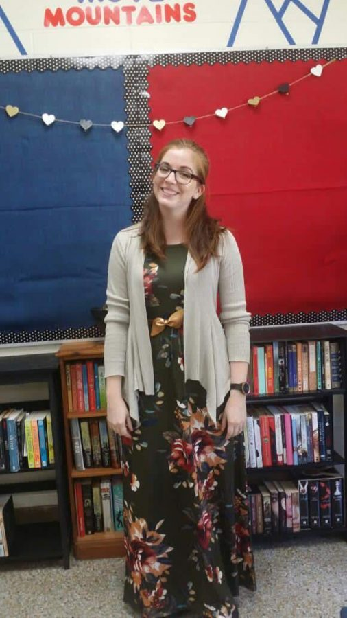 Mounce teaches English at Kempsville High School.