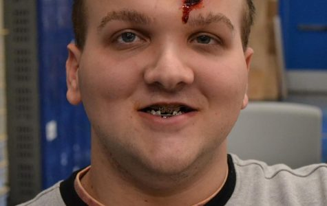 TSA Students Learn How to Do Moulage
