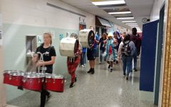 New Era and New Traditions: The Marching Band Marches Through the Halls