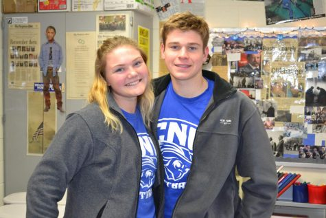 Erin Guckin and Thomas Sutryk on Twin Tuesday.