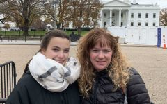 Marina and her host mother in Washington D.C.