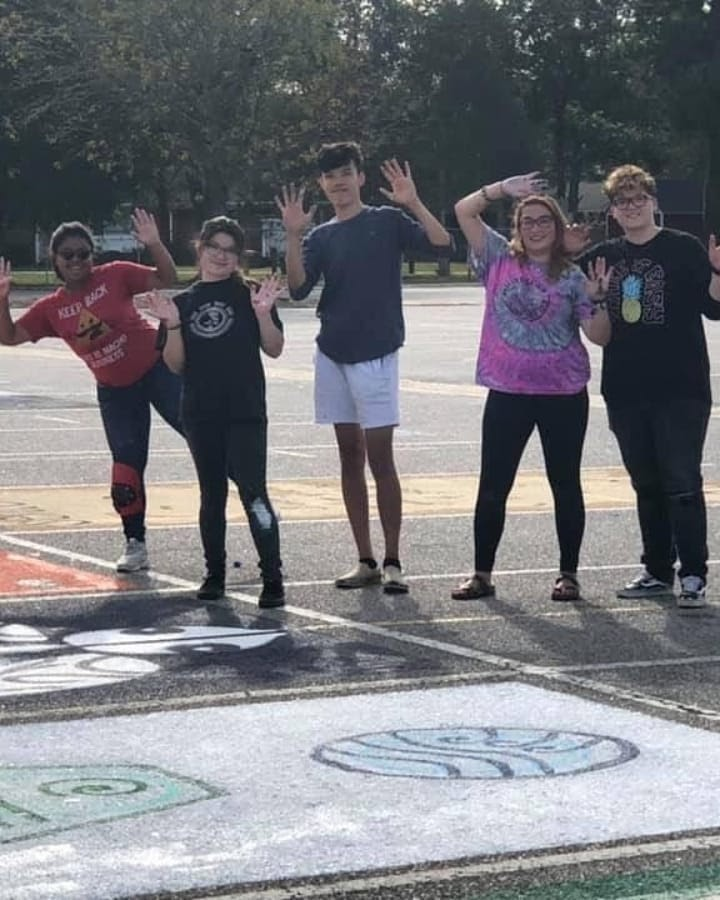 """""""Although I could still do this now, I would want to say thank you to my teachers because it's more heartfelt and personal in person,"""" Tyler Mullins, 17, said as something he would have liked to say in person before school ended."""