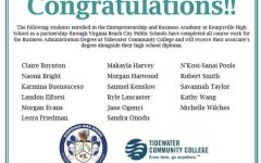 EBA Students Graduate with TCC Associates Degrees