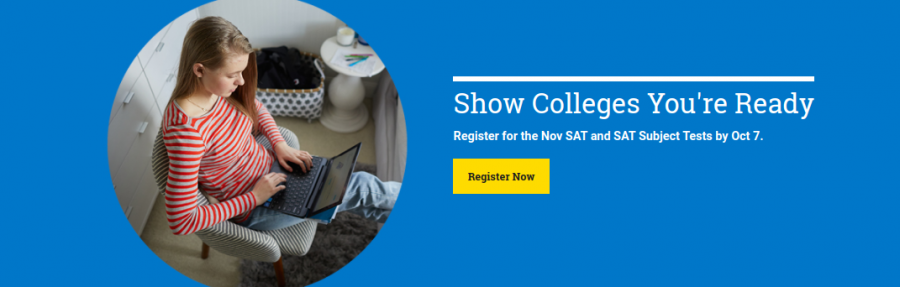 Students question whether or not to register for the SAT.
