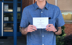 Student Receives a Letter of Commendation from the National Merit Scholarship Program